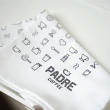 Padre Coffee Tea Towel