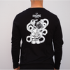 Padre Coffee X The Café Tracer - Long-Sleeved Tee (Black)