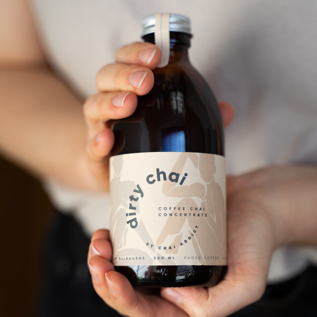 Dirty Chai Coffee Chai Concentrate