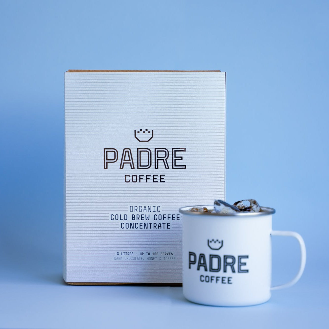 Padre Coffee Organic Cold Brew Coffee Concentrate