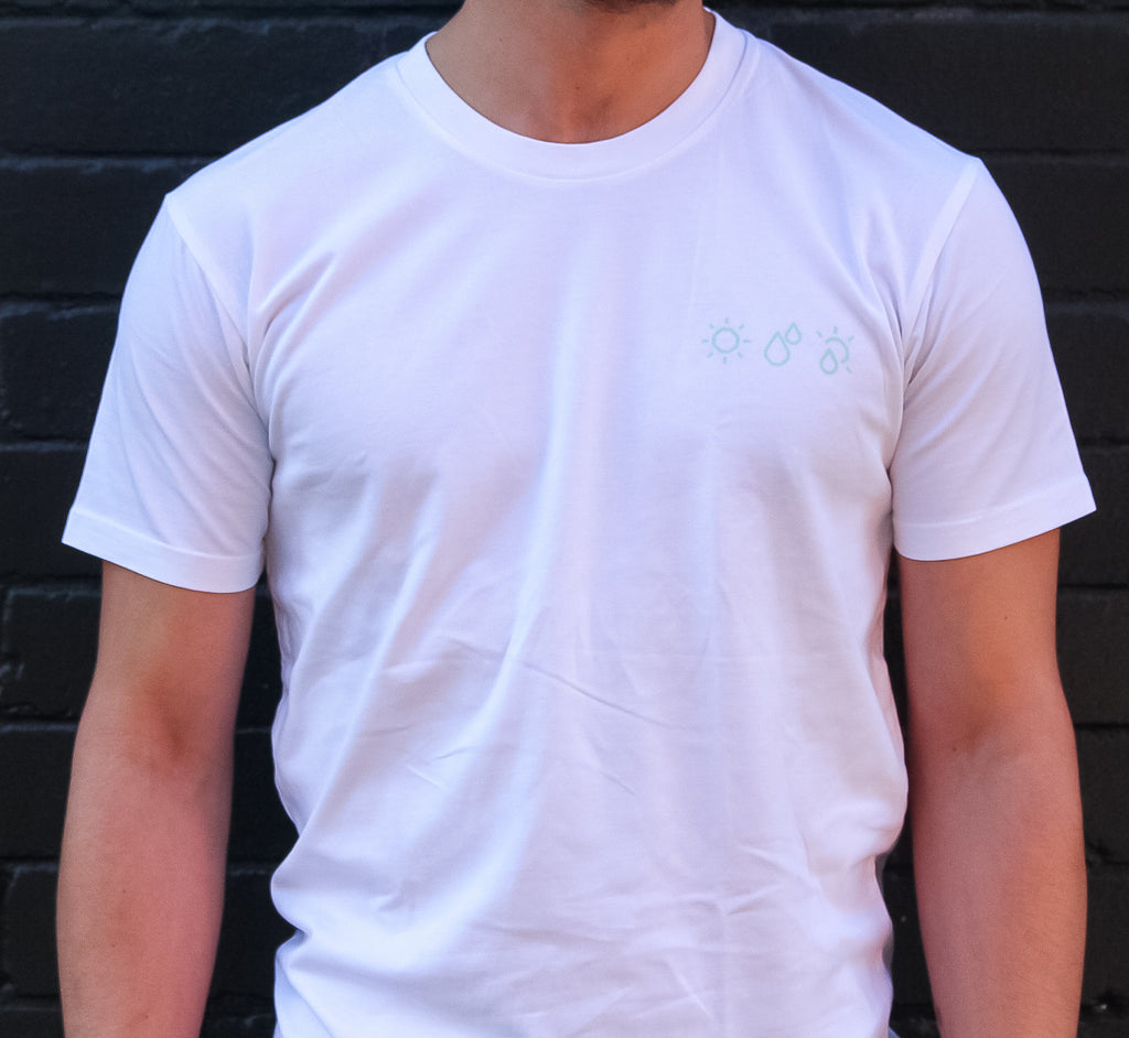 Padre Crest Icon Tee White