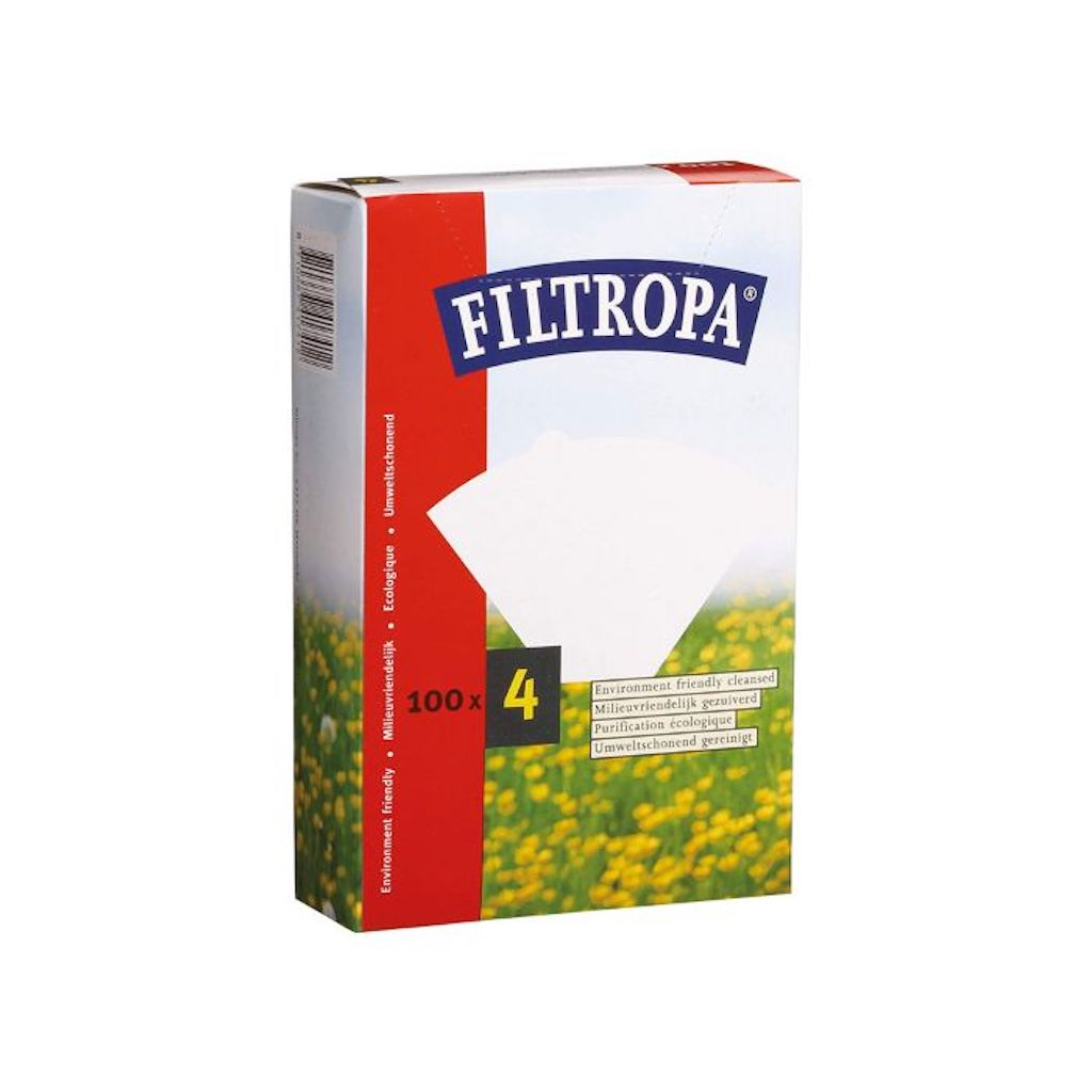 Filtropa Filter Papers #4 (100 Pack)