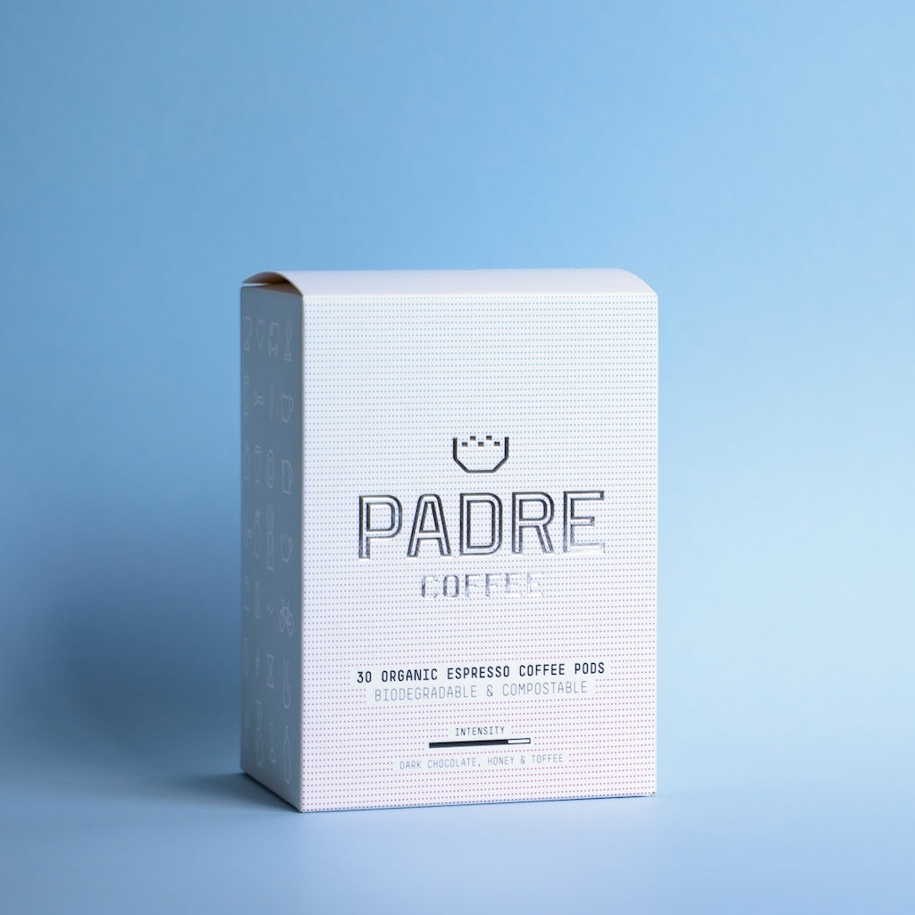 Padre Coffee Pods (Box of 30)