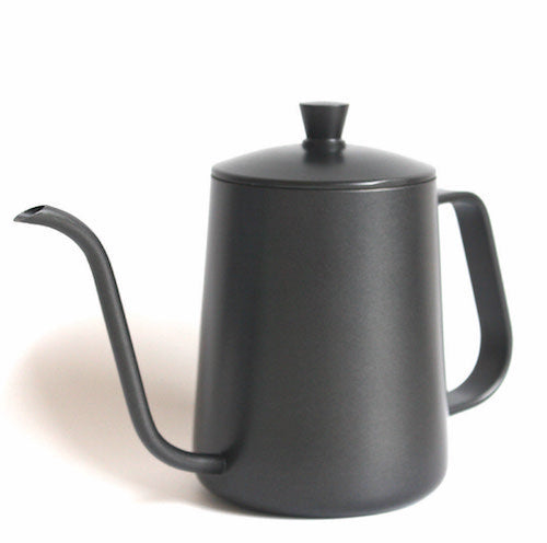 Black Stainless Steel Pourover Kettle