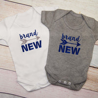 Brand New Baby Boys Bodysuit with Arrow