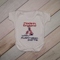 Made in England with Australian Parts - Bodysuit