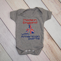 Made in England  with American Parts