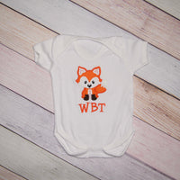 Personalized Fox Bodysuit