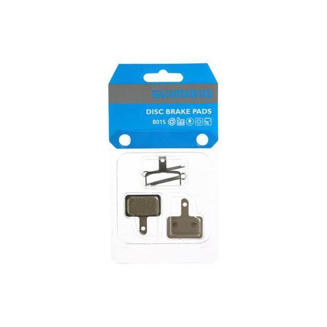 2 Pairs Shimano Disc Brake Pads /& Spring B01S Resin