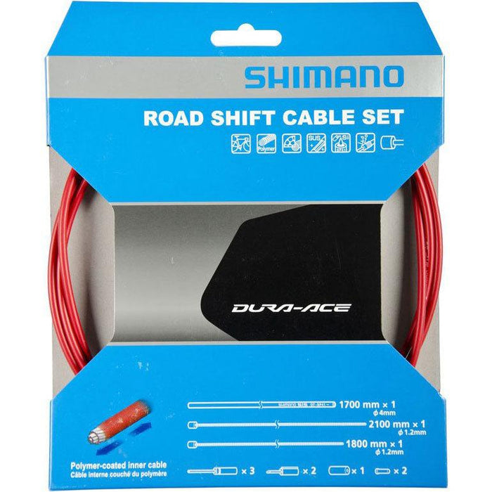 SHIMANO DURA-ACE POLYMER-COATED 1.2 X 2100MM BICYCLE INNER GEAR SHIFT CABLE