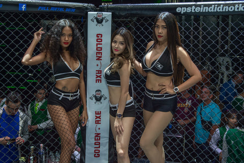 Full Metal Dojo girls in Bangkok Thailand