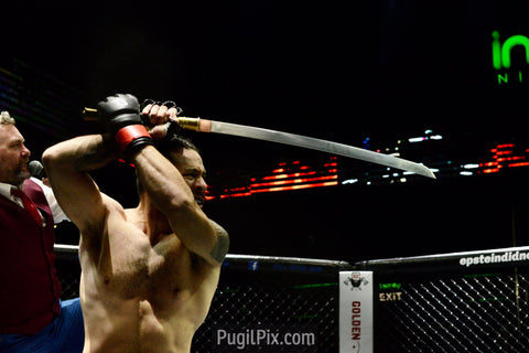 Full metal dojo in bangkok welterweight sword by Siam Blades