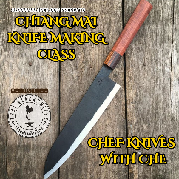 KNIFE MAKING CLASSES CHIANG MAI THAILAND