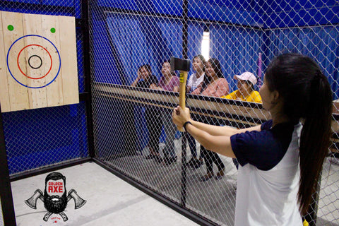 Fun things to do in Bangkok thailand, Axe throwing in bangkok, How to throw an axe NATF