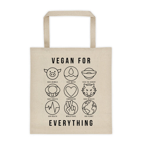 Vegan for Everything - Tote bag
