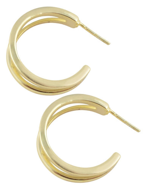 Twin line hoops,Arvind Agarwal, Curated Designer at Freesigners.com