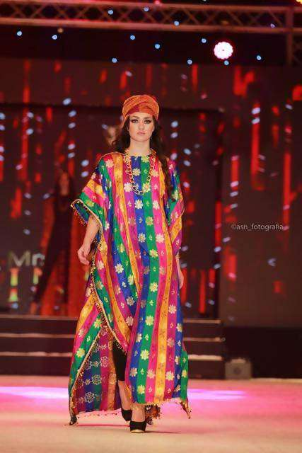 MULTICOLOURED KAFTAN,YOHANA CREATIONS, Curated Designer at Freesigners.com