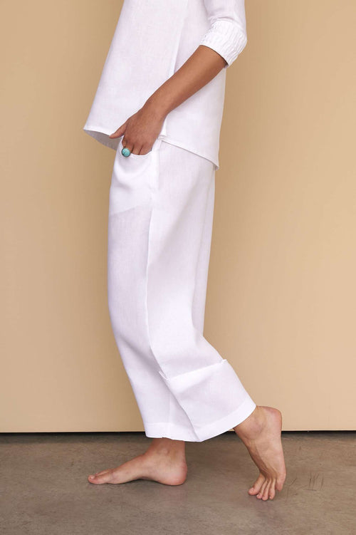 Alya | Pants,FÁCIL BLANCO DUBAI, Curated Designer at Freesigners.com