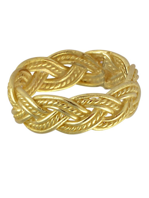 Pleated textured ring,Arvind Agarwal, Curated Designer at Freesigners.com