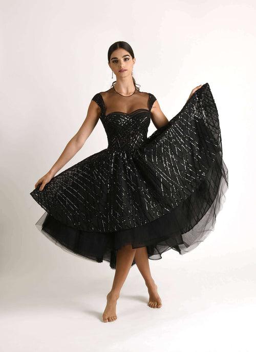 Black Swan,Marleen Nashef Couture, Curated Designer at Freesigners.com