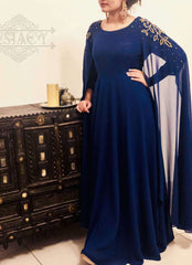 Cape gown,ECSTACY, Curated Designer at Freesigners.com