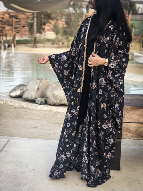 Floral kimono,ECSTACY, Curated Designer at Freesigners.com