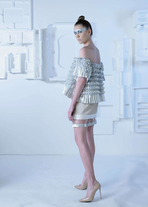 CYBORG COUTURE - MINI SKIRT,NAYLA OBEID, Curated Designer at Freesigners.com