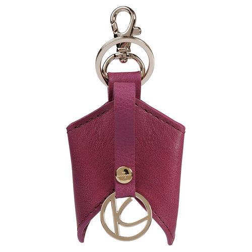 Crimson Ascot Leather Keyfob,Kaizer, Curated Designer at Freesigners.com