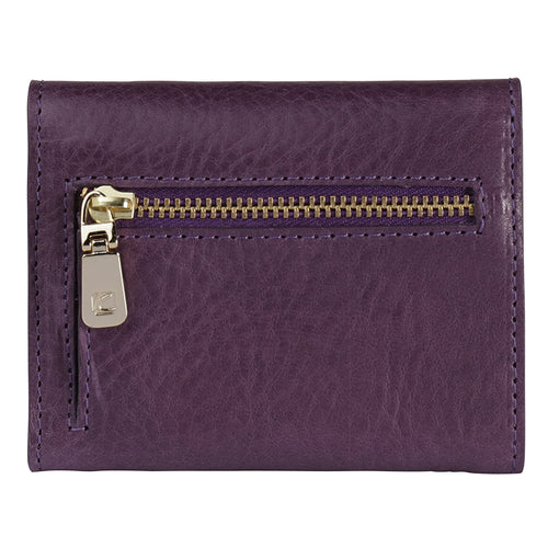 Violet Ascot Leather Wallet,Kaizer, Curated Designer at Freesigners.com