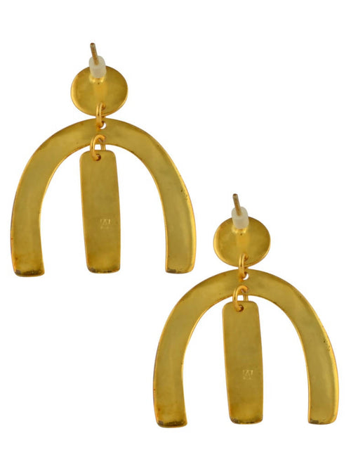 Forked earrings,Arvind Agarwal, Curated Designer at Freesigners.com