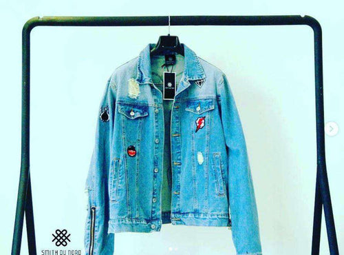 ROCKY MOUNTAIN Denim Jacket,Smith Du Nord, Curated Designer at Freesigners.com