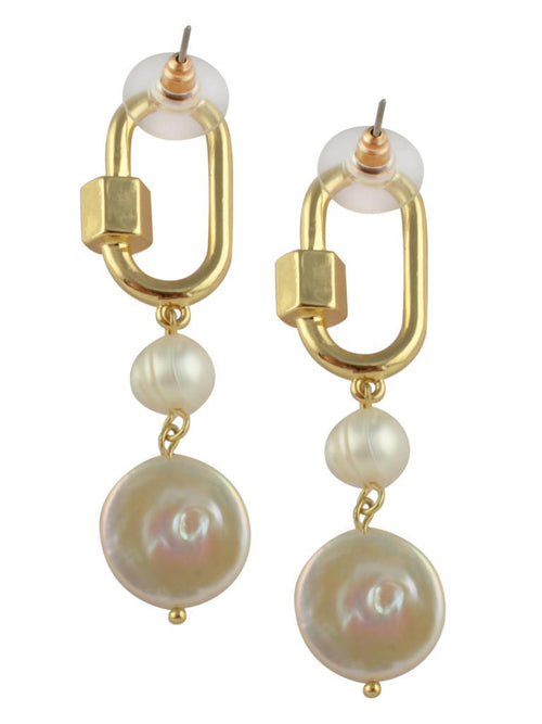 Enticing pearl danglers,Arvind Agarwal, Curated Designer at Freesigners.com