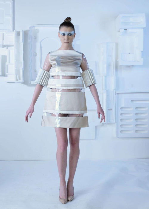 CYBORG COUTURE - SEE THROUGH DRESS,NAYLA OBEID, Curated Designer at Freesigners.com