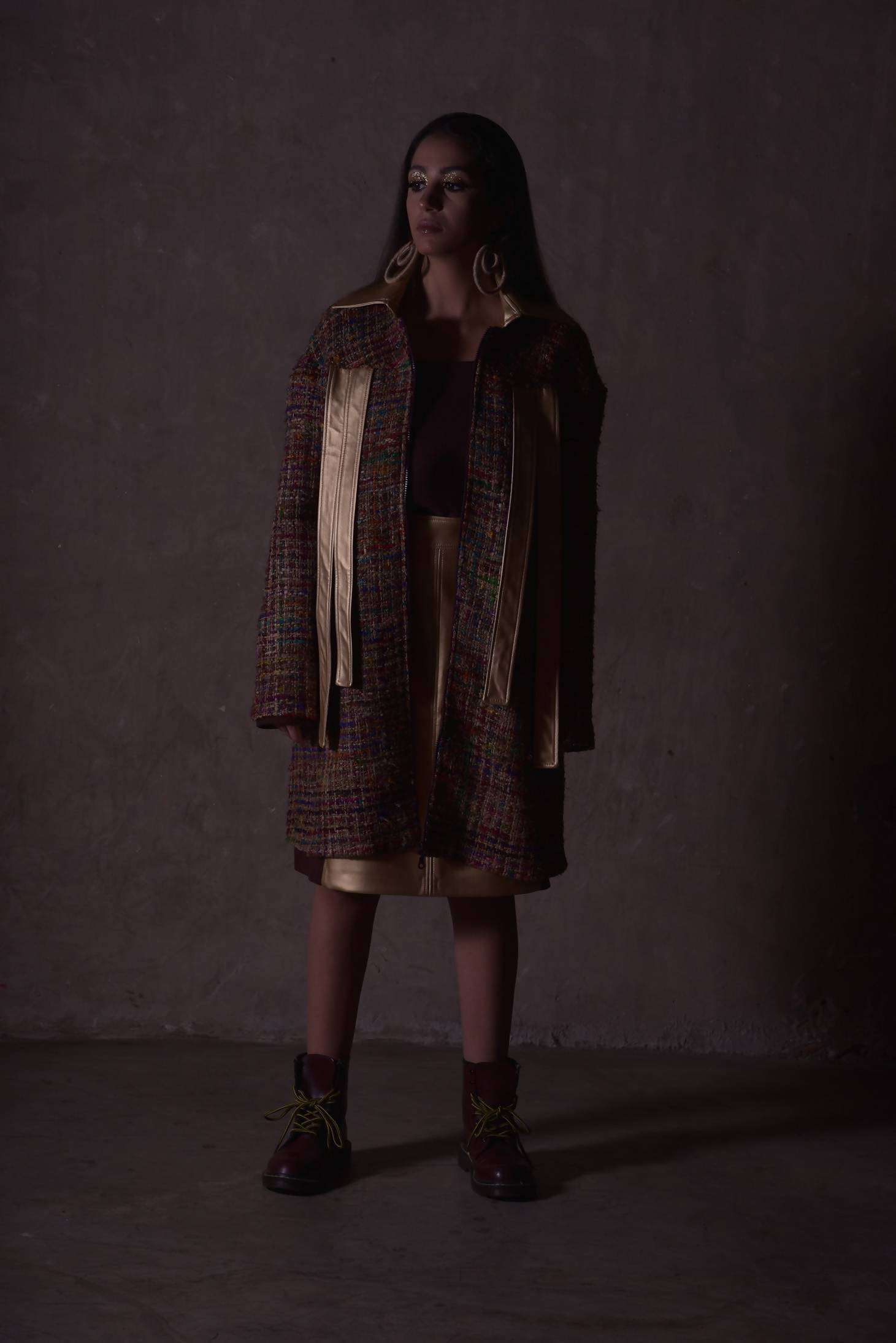 Long Way Coat,Judy Zebib, Curated Designer at Freesigners.com