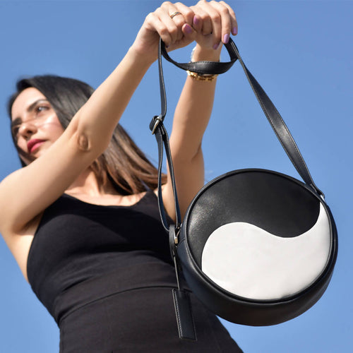 Yin Yang Crossbody,Midoree, Curated Designer at Freesigners.com