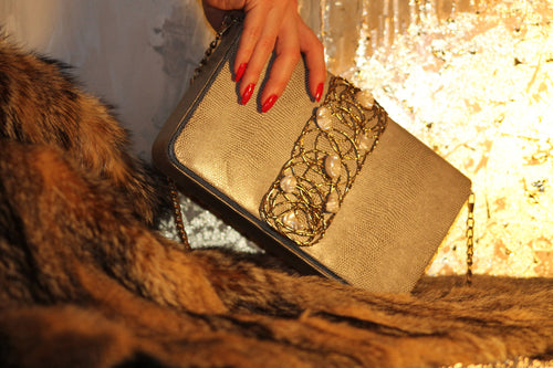 ANAHITA Clutch,SOUHA DAYEH, Curated Designer at Freesigners.com