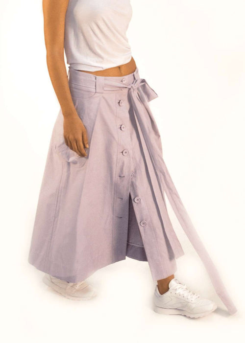 """Folded in"" Skirt,One andfour., Curated Designer at Freesigners.com"