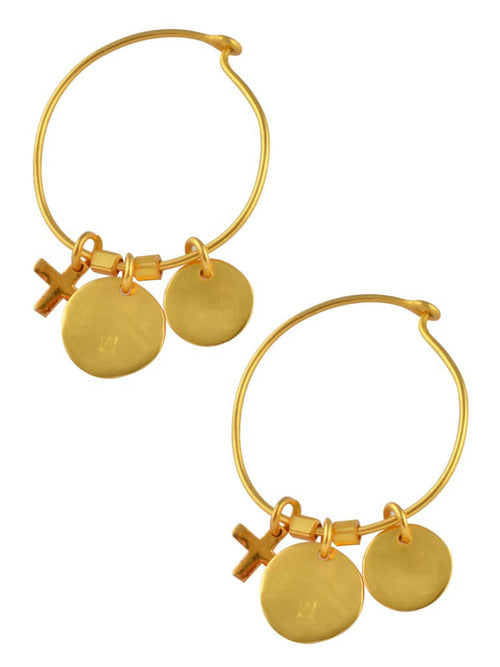 Charming hoops,Arvind Agarwal, Curated Designer at Freesigners.com