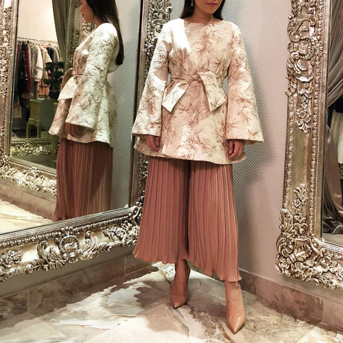 Kimono inspired bow blouse,SARA Z, Curated Designer at Freesigners.com