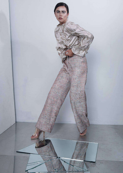 Full Embroidery pants,Noor bourdoukani, Curated Designer at Freesigners.com