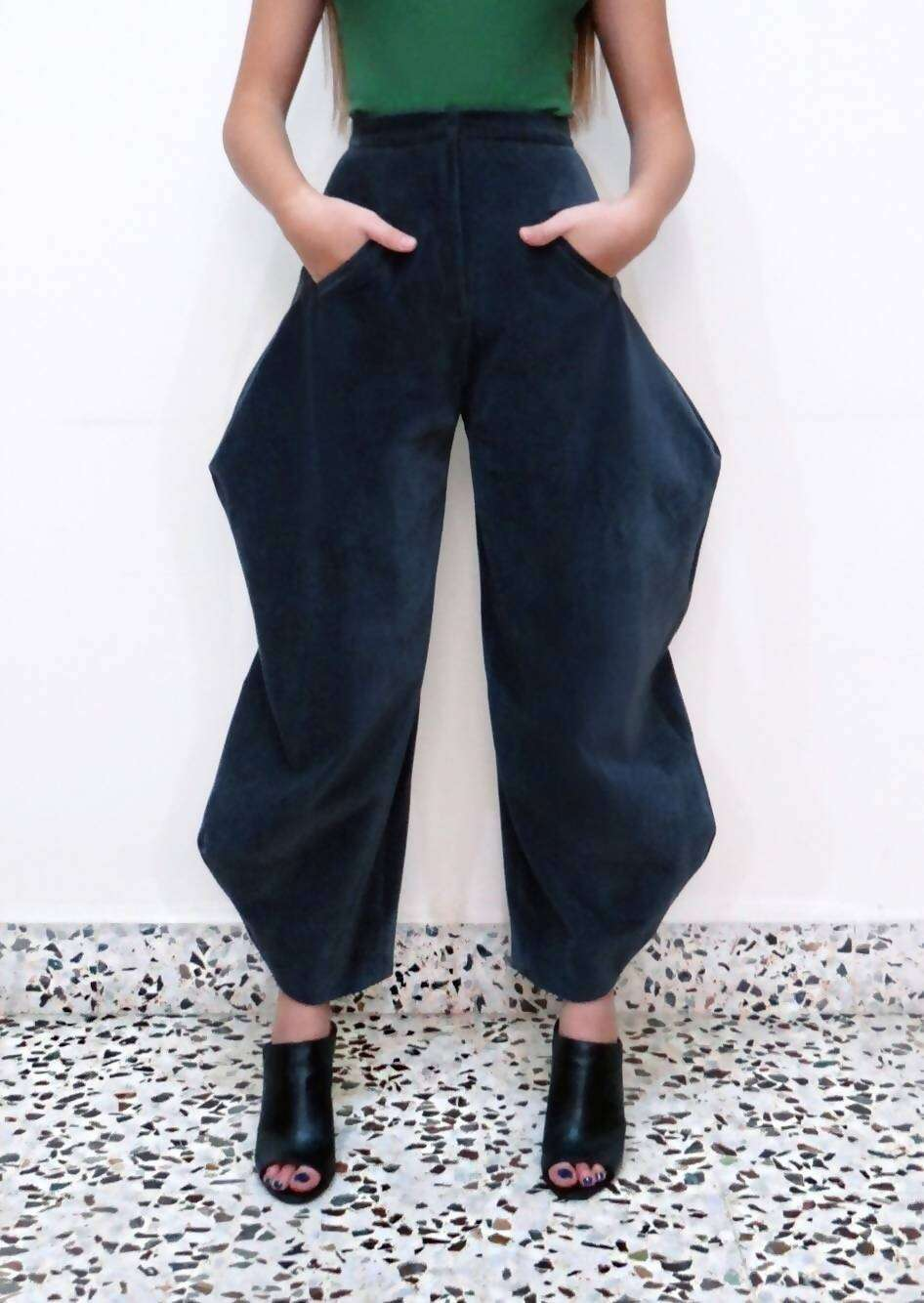 Manhattan Pants,L A Y A L K A Z M A, Curated Designer at Freesigners.com