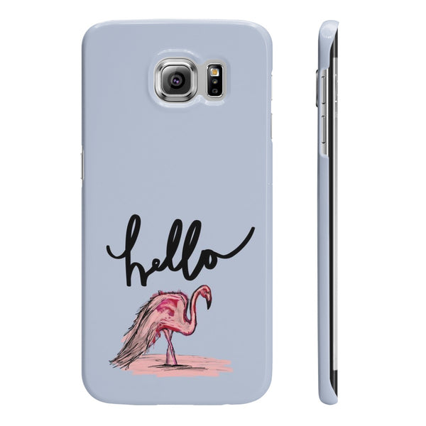 Flamingo Slim Phone Cases - sleekitstore