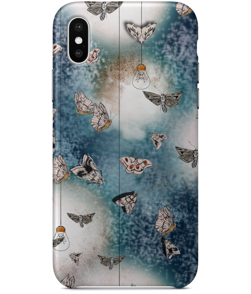 iPhone X Classic Moth Print