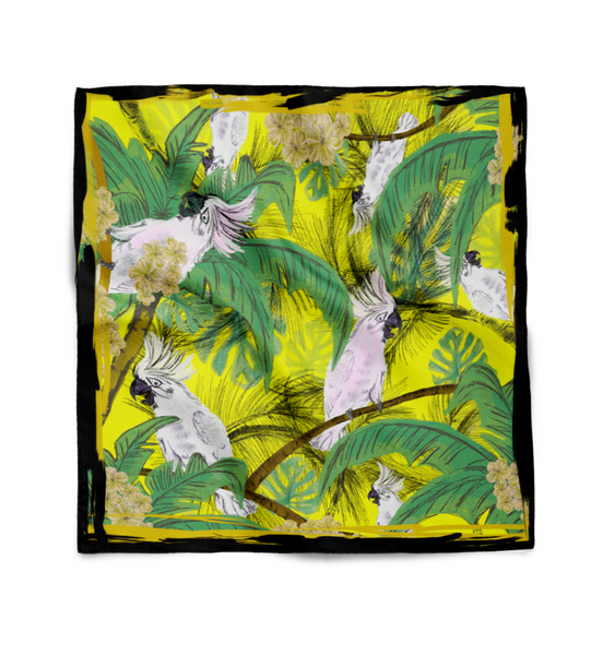 Cockatoo Tropical Scarf - sleekitstore