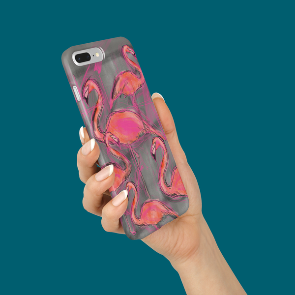 iPhone 8 Flamingo Case
