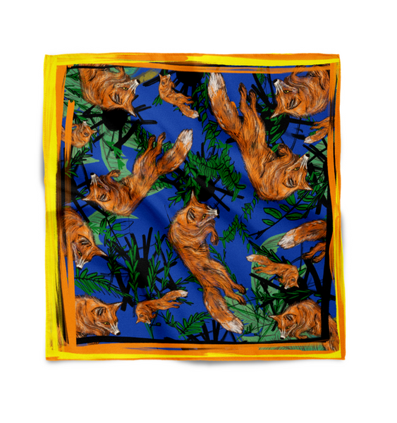 Sleekit studio silk scarf sleekit fashion