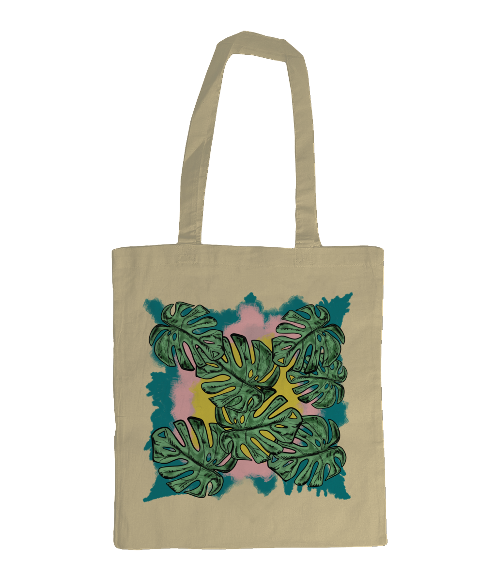 Organic Tote Bag Tropical - sleekitstore