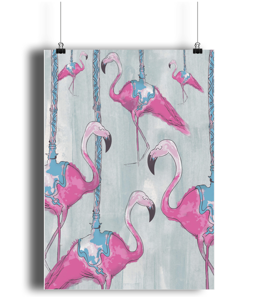 Flamingo print - sleekitstore