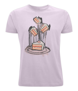 Canvas Unisex Eat Cake Tee - sleekitstore
