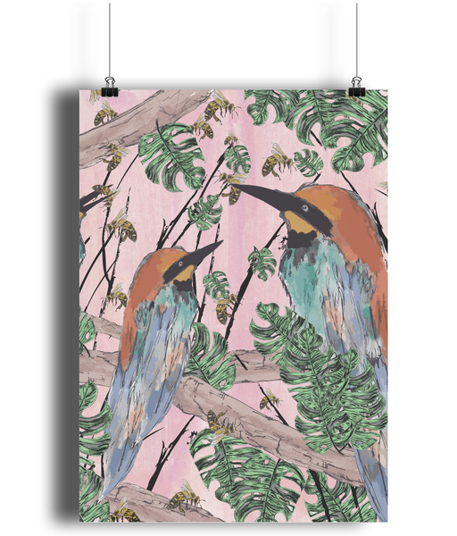 Bee Eater Digital Print - sleekitstore